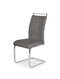 Krzesło K-348 popiel tkanina/chrom Halmar