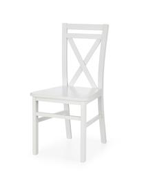 Krzesło drewniane dariusz 2 biały halmar