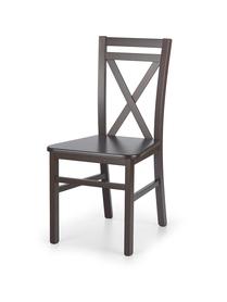 Krzesło drewniane dariusz 2 ciemny orzech halmar