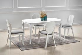 Rozkładany stółAlexander 150(190)x90 biały mat mdf/drewno Halmar