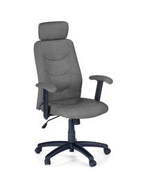 Fotel gabinetowy Stilo 2 ciemny popiel tkanina Halmar