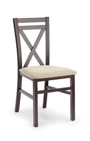 Krzesło drewniane dariusz ciemny orzech halmar