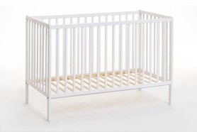 Łóżeczko dziecięce sosnowe Cypi II z materacem 60x120
