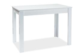 Rozkładany stół Albert 120(165)x68 biel płyta laminowana/mdf Signal