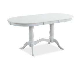 Rozkładany stół Savona 120(159)x80 biel mdf/drewno Signal