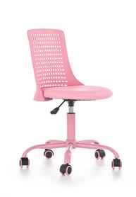 Fotel młodzieżowy Pure róż polipropylen/eco skóra Halmar