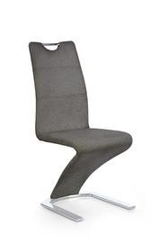 Krzesło K-350 popiel tkanina/chrom Halmar
