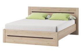 Łóżko sypialniane desjo 50 dąb san remo 140x200 szynaka