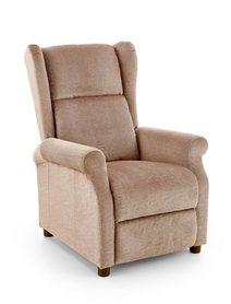 Fotel wypoczynkowy Agustin tkanina beż halmar