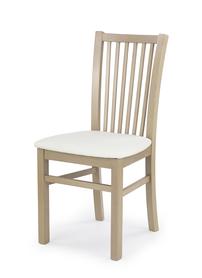 Krzesło jacek dąb sonoma ekoskóra/drewno halmar