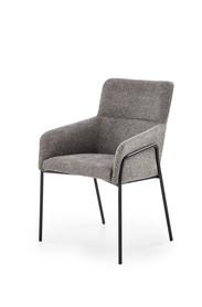 Krzesło K-327 popiel tkanina/stal Halmar
