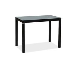 Stół Galant 100x60 czarny szkło/metal Signal