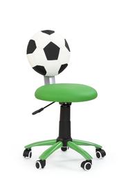 Fotel młodzieżowy Gol zielony eco skóra Halmar