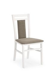 Krzesło hubert 8 biały-inari tkanina/drewno halmar