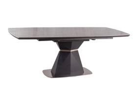 Stół Cortez Ceramic 160(210)x90 efekt marmuru/antracyt Signal