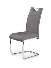 Krzesło K-349 popiel tkanina/chrom Halmar