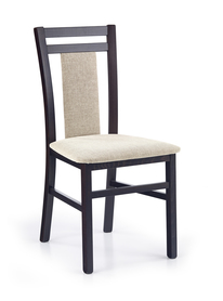 Krzesło hubert 8 wenge -vila tkanina/drewno halmar