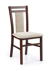 Krzesło hubert8 c.orzech tkanina/drewno halmar