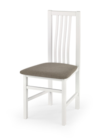 Krzesło paweł biały-inari 23 tkanina/drewno halmar
