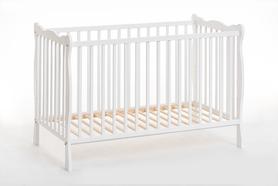 Łóżeczko dziecięce sosnowe Ala II z materacem 60x120