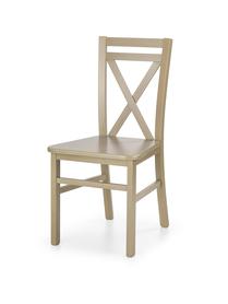 Krzesło drewniane dariusz 2 dąb sonoma halmar