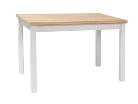 Stół Adam 100x60 dąb/biały mat Signal