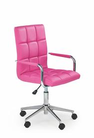 Fotel młodzieżowy Gonzo 2 róż eco skóra Halmar